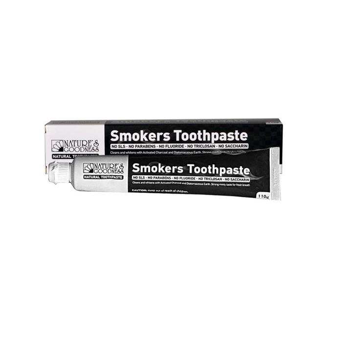 Nature's Goodness Smokers Toothpaste 110g