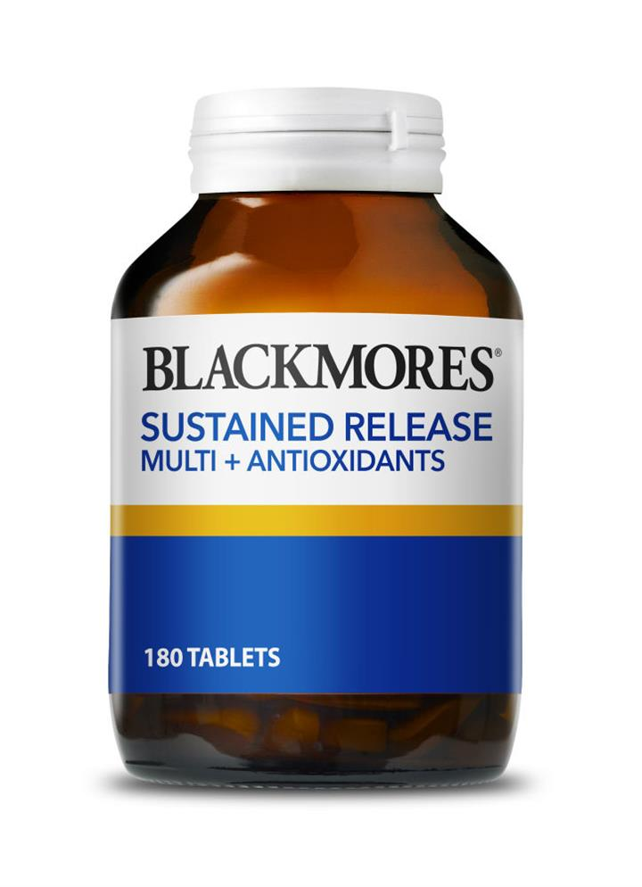 Blackmores Sustained Release Multi + Antioxidants Tab X 180