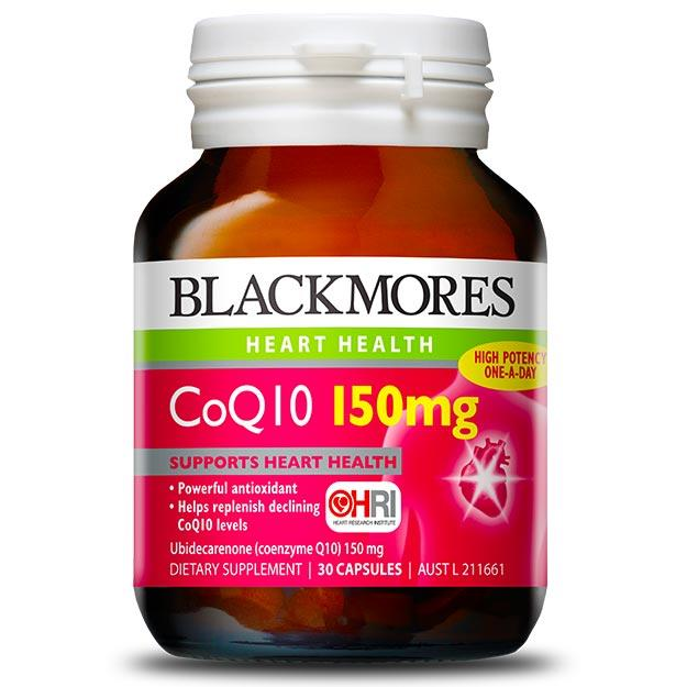 Blackmores CoQ10 150mg Cap X 30