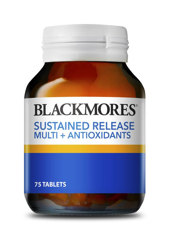 Blackmores Sustained Release Multi + Antioxidants Tab X 75