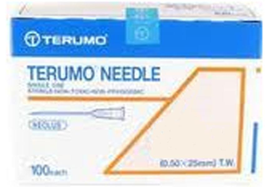 Terumo Needle 21G X 1.5″ (0.80 X 38mm) X 100