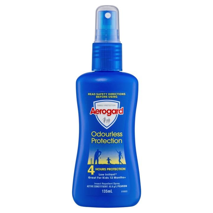 Aerogard Insect Repellent Spray Odourless Protection 135ml