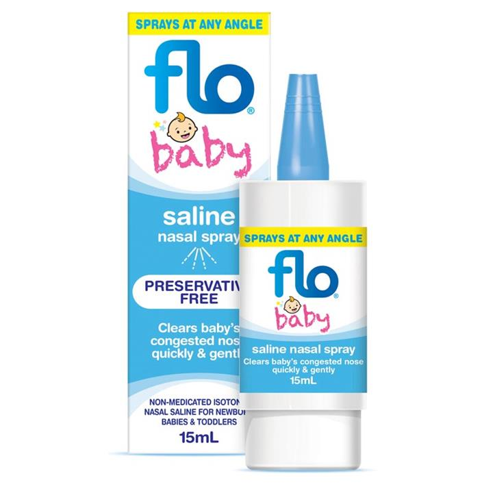 Flo Baby Saline Nasal Spray 15ml
