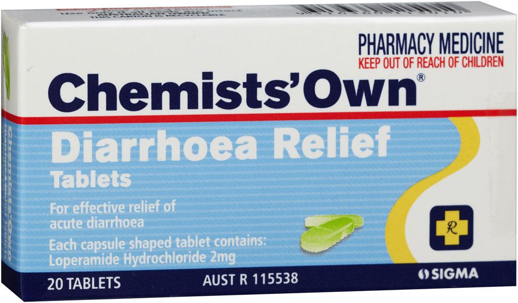 Chemists' Own Diarrhoea Relief Tab X 20