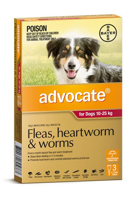 Advocate For Large Dogs (10-25kg) – 3 Pack