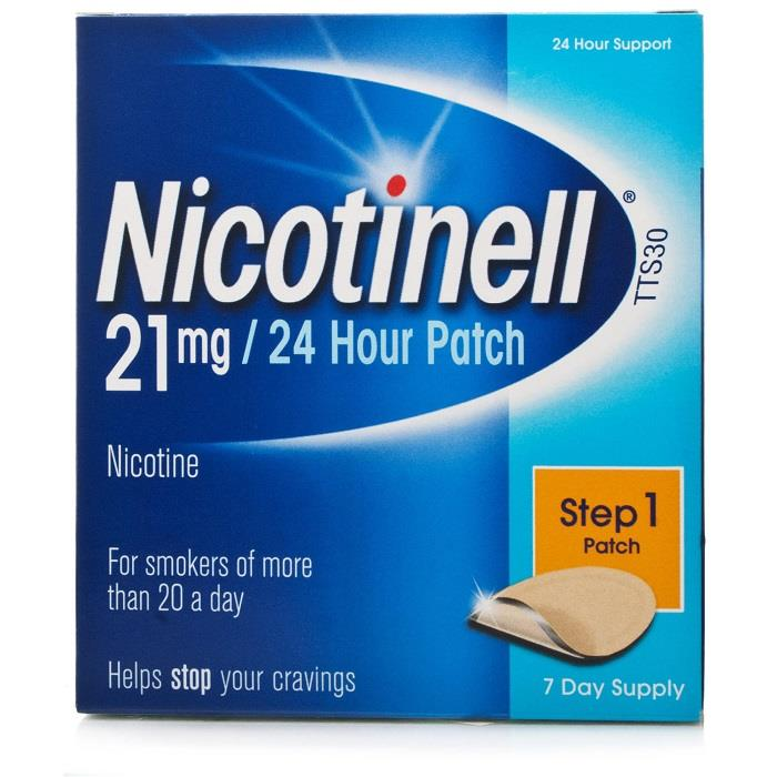Nicotinell Patch Step 1 Patches 21mg X 7
