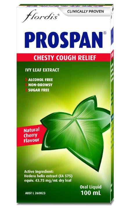 Flordis Prospan Chesty Cough Relief (Ivy Leaf) 100ml