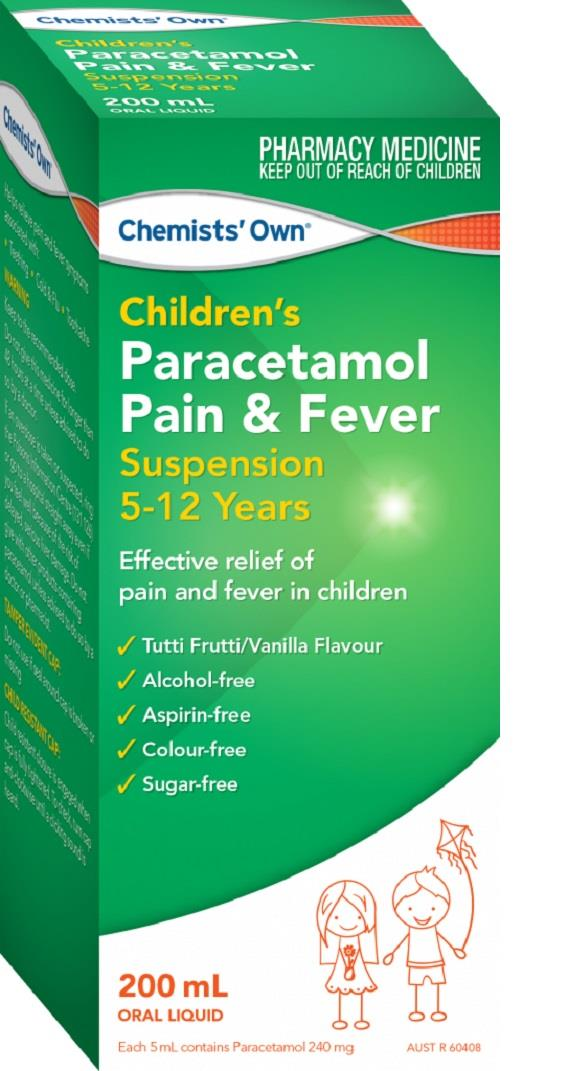 Chemists' Own Children's Paracetamol 5-12 Years 200ml