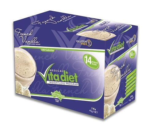 Medical Vita Diet French Vanilla Smoothie Sachets X 14