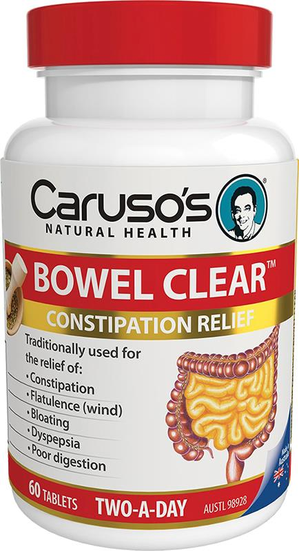 Caruso's Bowel Clear Two A Day Tab X 60