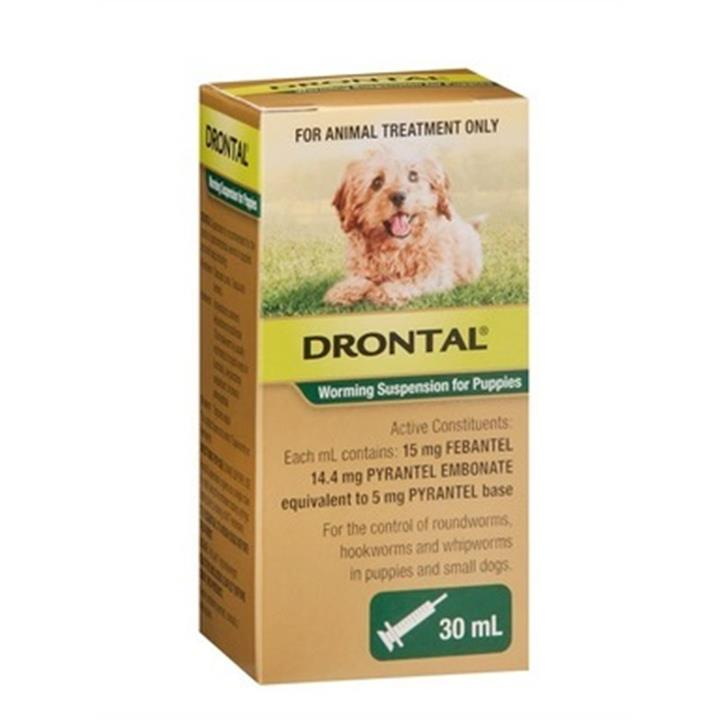 Drontal Worming Suspension For Puppies 30ml