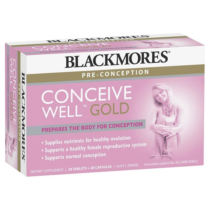Blackmores Conceive Well Gold X 56
