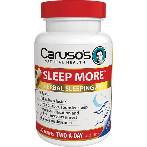 Caruso's Sleep More Two A Day Tab X 30