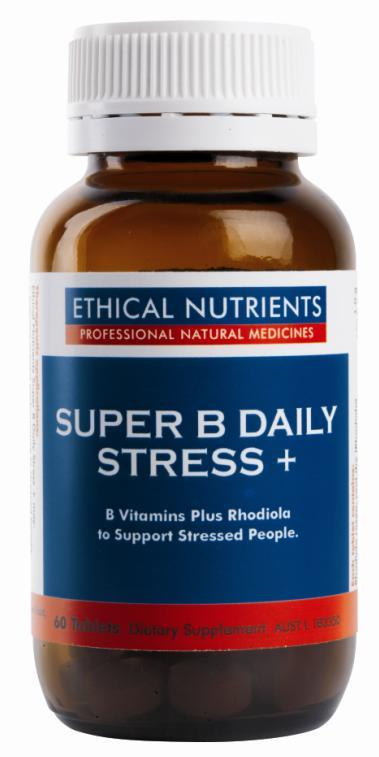 Ethical Nutrients Super B Daily Stress + Tab X 60
