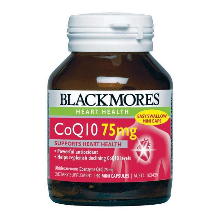 Blackmores CoQ10 75mg Cap X 90