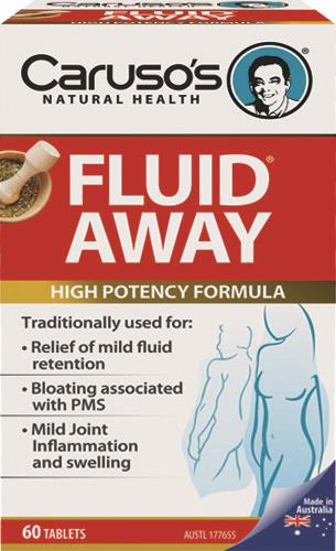 Caruso's Natural Health Fluid Away Tab X 60