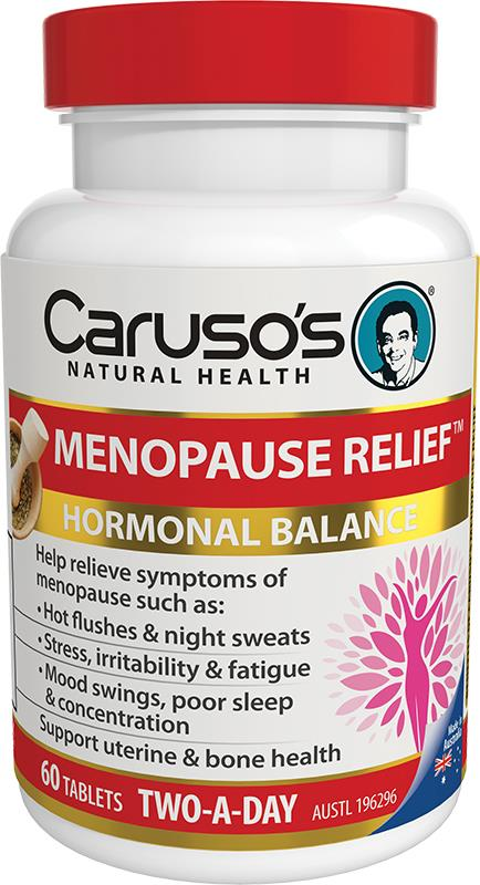 Caruso's Natural Health Menopause Relief Two A Day Tab X 60