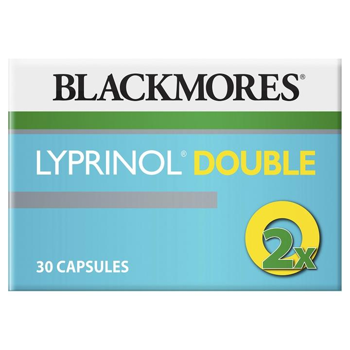 Blackmores Lyprinol (Green Lipped Mussel) Double Strength 100mg Cap X 30