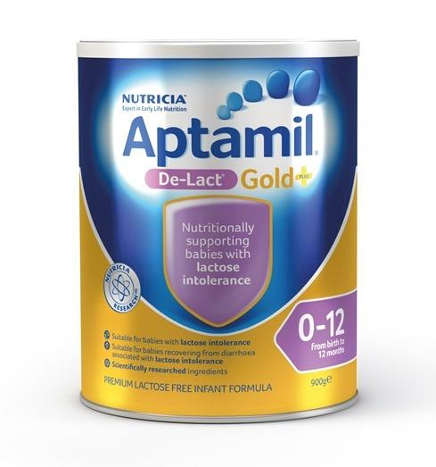 Aptamil Gold Plus De-Lact Infant Formula (0-12 Months) 900g (Limit 2 per order)