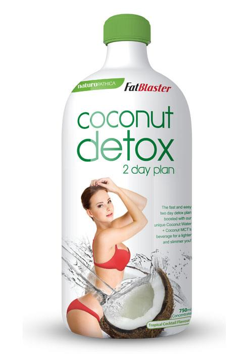 FatBlaster Coconut Detox 2 Day Plan Concentrate 750ml