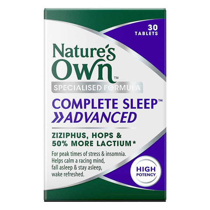 Nature's Own Complete Sleep Advanced Tab X 30