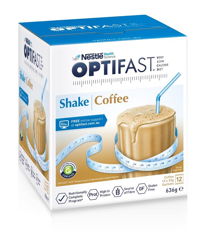 Optifast VLCD Milk Shake (Coffee) 53g X 12