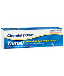 Chemists' Own Tamsil Antifungal Cream 15g (Generic for LAMISIL)