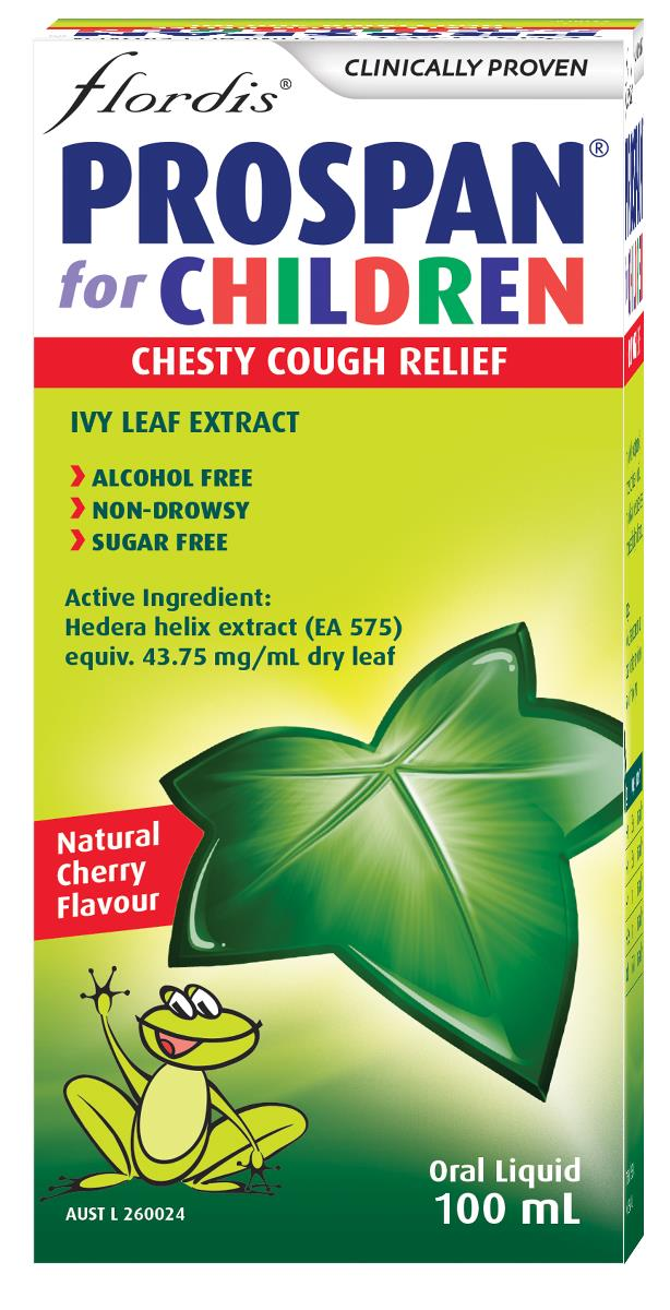 Flordis Prospan Chesty Cough Relief For Children (Ivy Leaf) 100ml