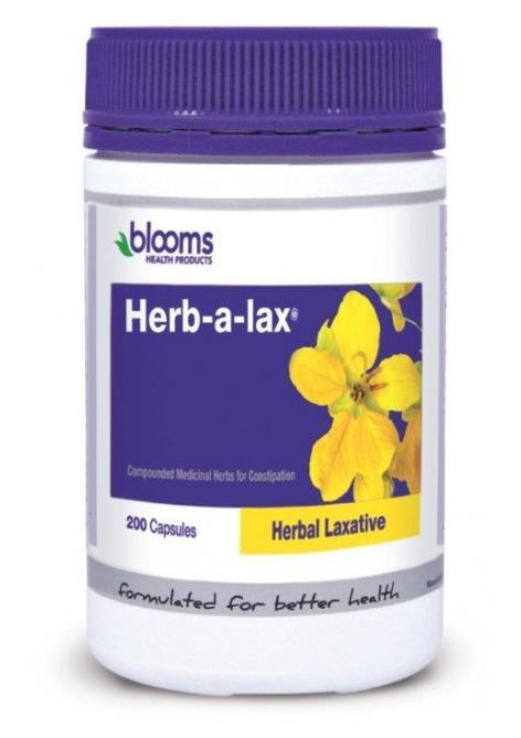 Henry Blooms Herb-a-lax Laxative Cap X 200