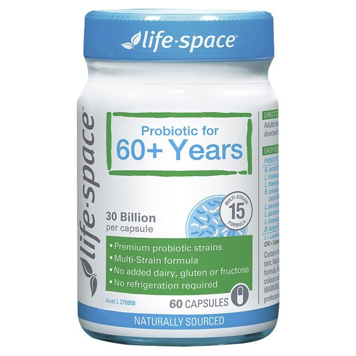 Life Space Probiotic For 60+ Years Cap X 60