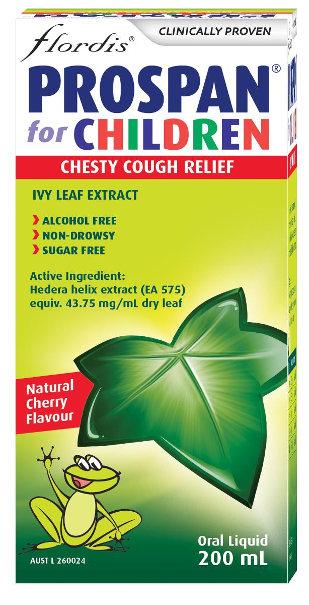 Flordis Prospan Chesty Cough Relief For Children (Ivy Leaf) 200ml