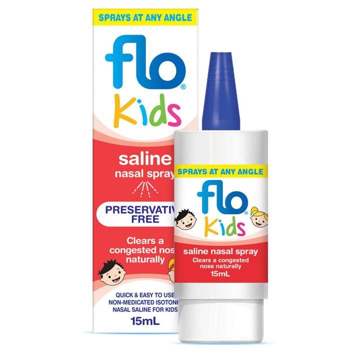 Flo Kids Saline Nasal Spray 15ml