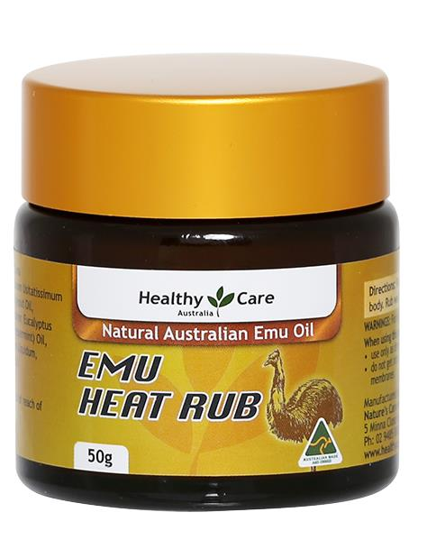Healthy Care Emu Heat Rub 50g