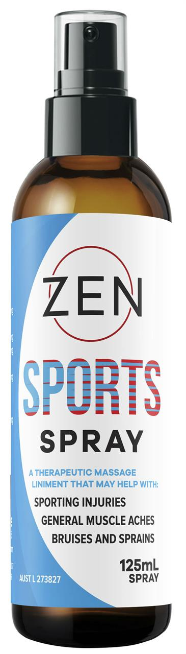 Zen Sports Joint & Muscle Pain Relief Spray 125ml