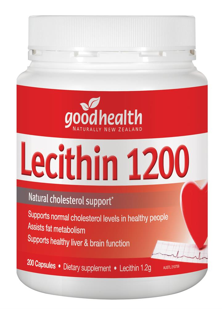 Good Health Lecithin 1200 Cap X 200