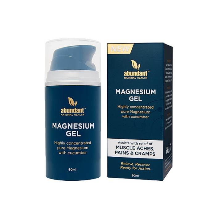Abundant Natural Health Magnesium Gel 80ml