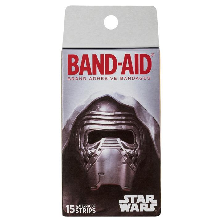 Band-Aid Star Wars Waterproof Strips X 15