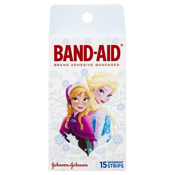 Band-Aid Disney Frozen Waterproof Strips X 15