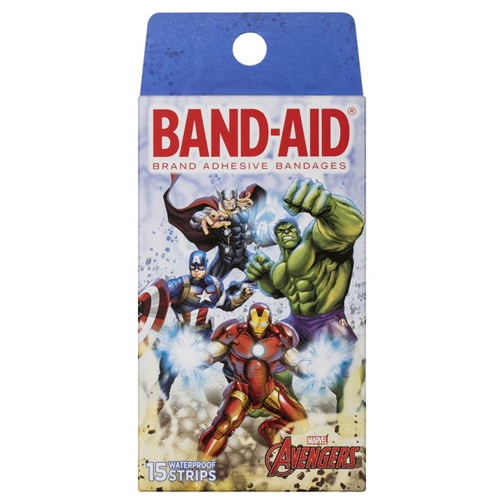 Band-Aid Avengers Waterproof Strips X 15