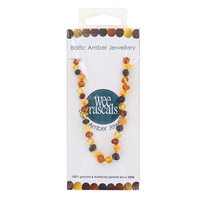 Wee Rascals Amber Infant Multi Necklace 33cm