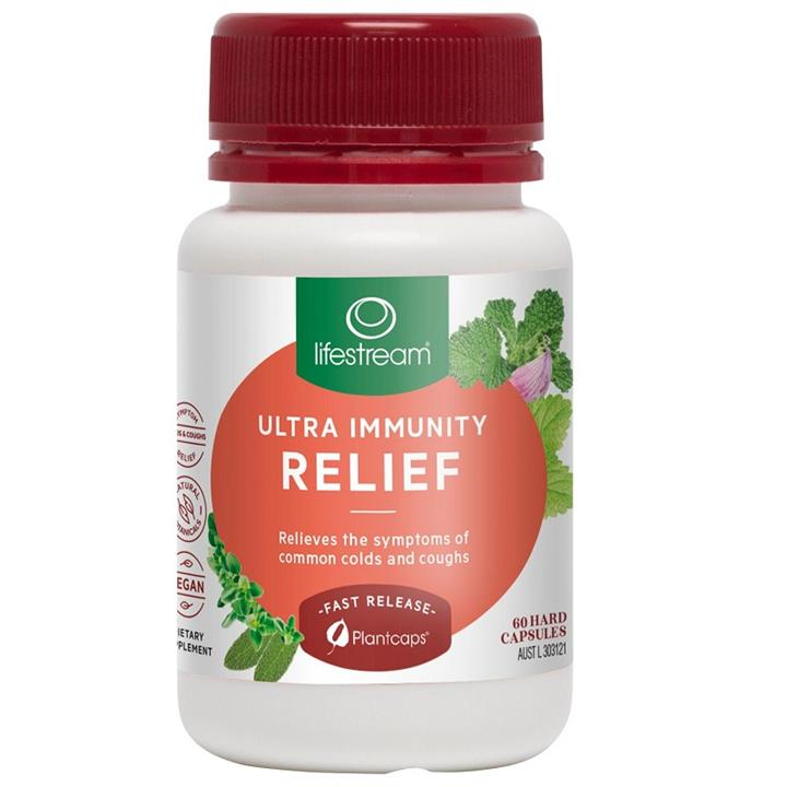 Lifestream Ultra Immunity Relief Cap X 60