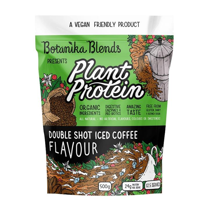 Botanika Blends Plant Protein Double Shot Iced Coffee Flavour 500g