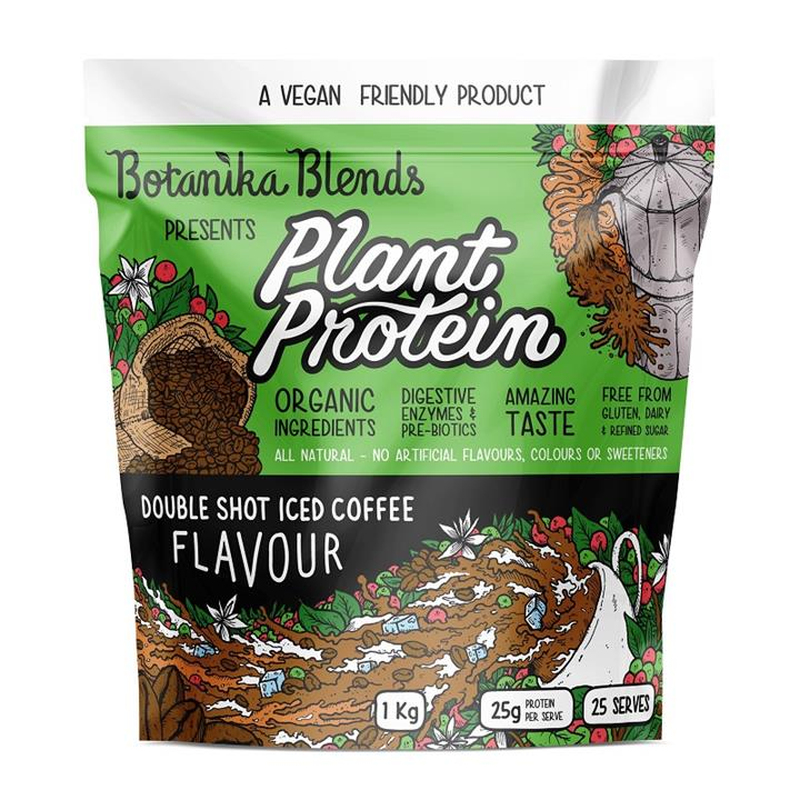 Botanika Blends Plant Protein Double Shot Iced Coffee Flavour 1kg