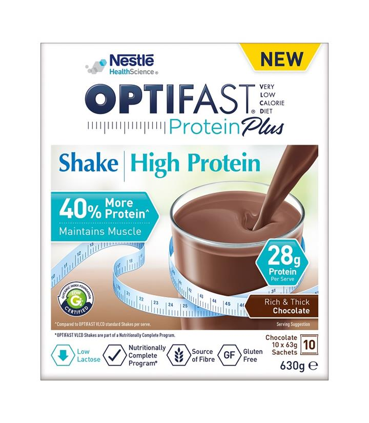 Optifast VLCD Protein Plus High Protein Shake (Chocolate) 63g X 10