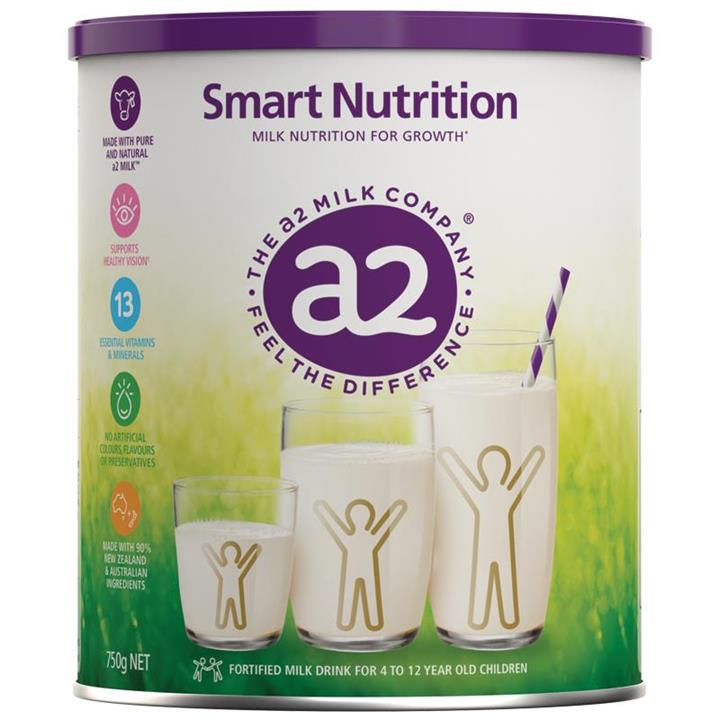 a2 Smart Nutrition Fortified Milk Drink for Children 750g