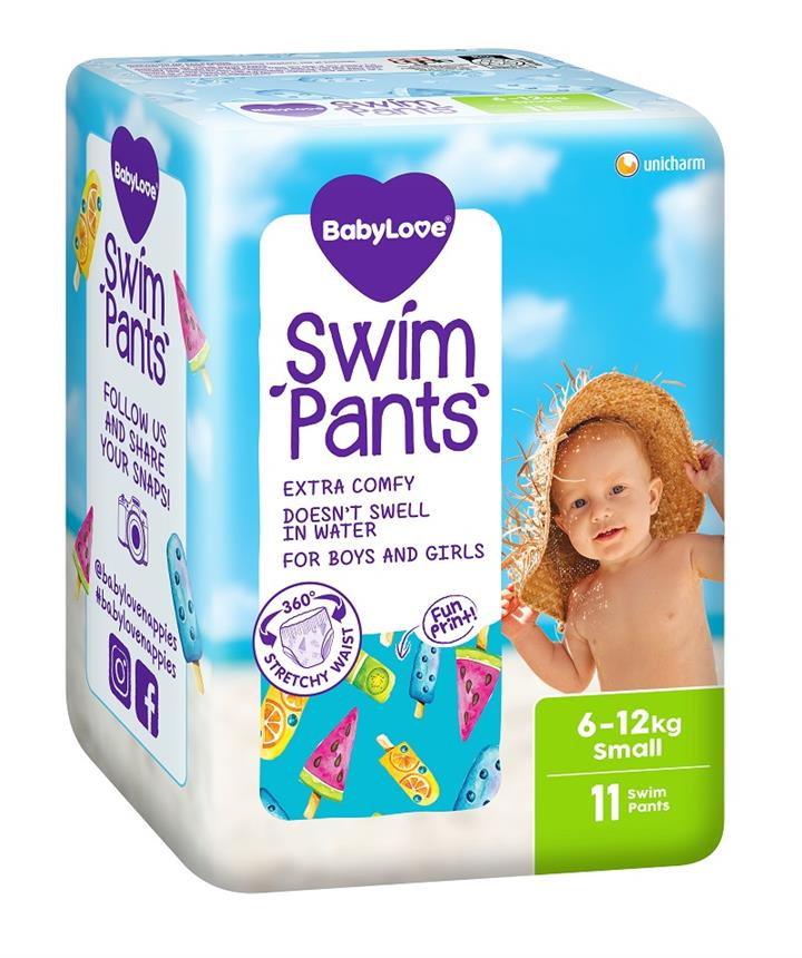 BabyLove Swim Pants Small  (6 to 12kg) X 11 (Limit 2 per order)