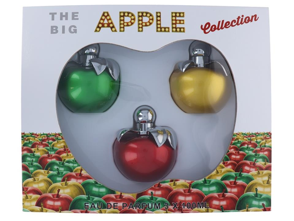 The Big Apple Green + Gold + Red (Women) EDP – 3 Piece Set