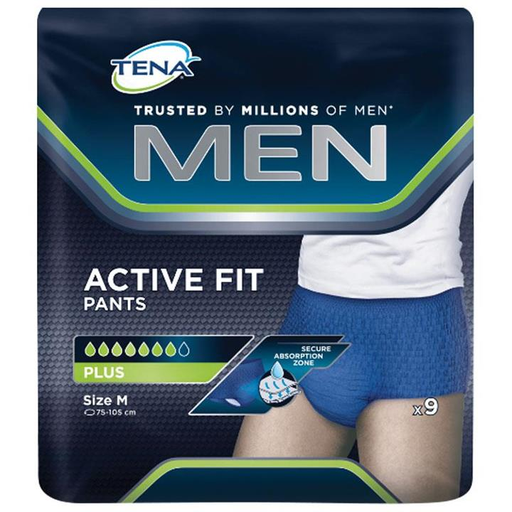 Tena Men Active Fit Plus Pant Medium X 9