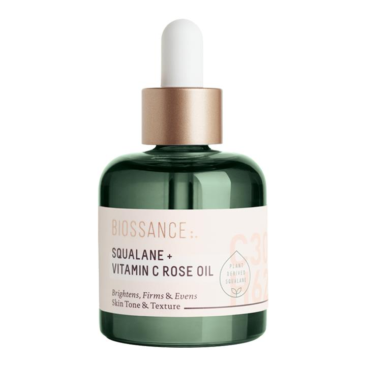 Biossance Squalane + Vitamin C Rose Oil 30ml