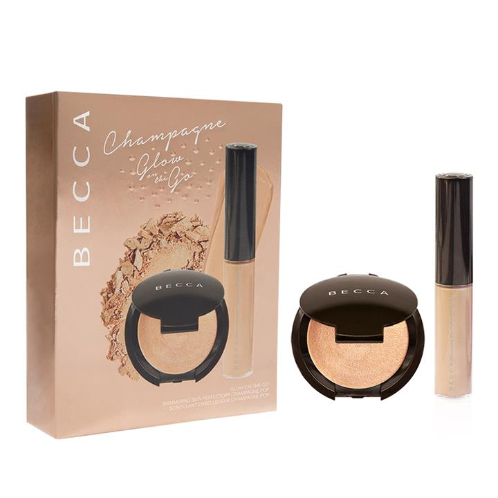 BECCA Cosmetics Glow On The Go Kit Champagne Pop (Limited Edition)